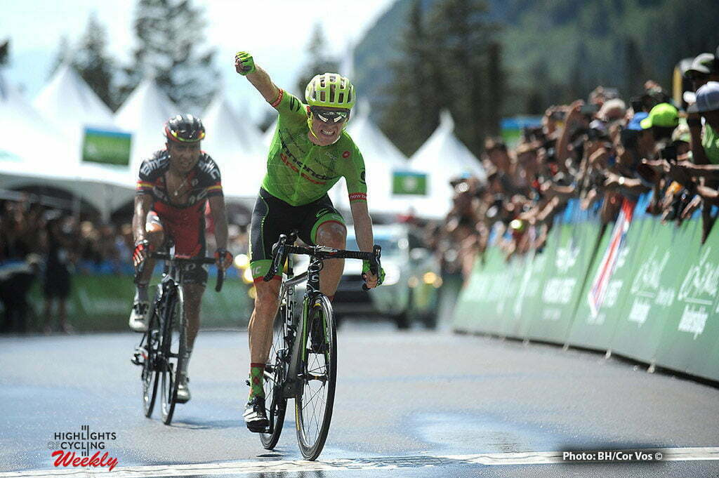 Snowbird Ski & Summer Resort - USA - wielrennen - cycling - radsport - cyclisme - Andrew Talansky (USA / Cannondale Drapac Pro Cycling Team) - Atapuma Hurtado Darwin (Columbia / BMC Racing Team) pictured during The Larry H.Miller Tour of Utah 2016 stage 6 from Snowbasin Resort - Snowbird Ski & Summer Resort - photo Brian Hodes/Cor Vos © 2016***USA OUT***