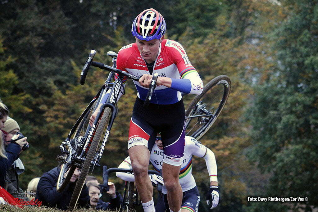 Valkenburg - Netherlands - wielrennen - cycling - radsport - cyclisme - Mathieu van der Poel (Biobank Corendon) pictured during the Elite Men World Cup Race Cyclocross - Veldrijden in Valkenburg - photo Davy Rietbergen/Cor Vos © 2016