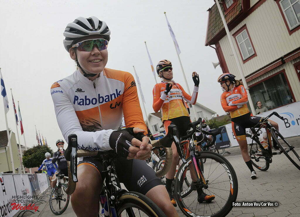 Vargarda - Sweden - wielrennen - cycling - radsport - cyclisme - Van der Breggen Anna (Netherlands / Rabobank Liv Women Cycling Team) pictured during Crescent Women World Tour Vargarda roadrace 2016 - photo Anton Vos/Cor Vos © 2016