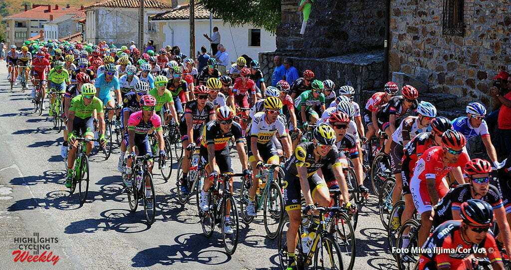 Oviedo. Alto del Naranco - Spain - wielrennen - cycling - radsport - cyclisme - illustration - sfeer - illustratie pictured during stage 9 from Cistierna - Oviedo. Alto del Naranco - Vuelta Espana 2016 - photo Miwa iijima/Cor Vos © 2016