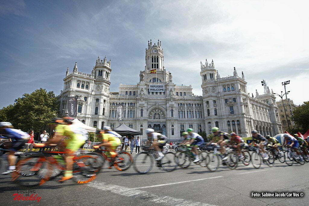 Madrid - Spain - wielrennen - cycling - radsport - cyclisme - illustration - sfeer - illustratie pictured during Madrid Challenge by Vuelta 2016 womens cycling race in Madrid - photo Sabine Jacob/Cor Vos © 2016