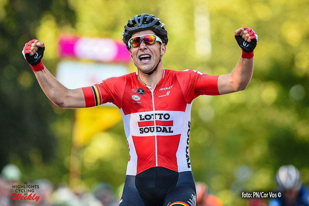 Namur - Belgium - wielrennen - cycling - radsport - cyclisme - Tony Gallopin wins the GP Wallonie on the Citadel of Namur in Namur, Belgium - photo GvG/PN/Cor Vos © 2016
