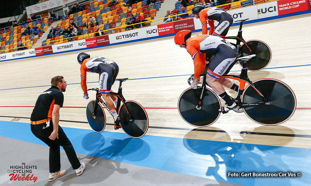 Apeldoorn - Netherlands - wielrennen - cycling - radsport - cyclisme - pictured during Worldcup Track Wereldbeker baan Coupe du Monde Piste in Apeldoorn, the Netherlands- photo Gert Bonestroo/Cor Vos © 2016