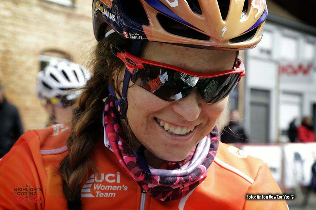 Boezinge - Belgium - wielrennen - cycling - radsport - cyclisme - Canuel Karol-Ann (Canada / Boels Dolmans Cycling Team) pictured during Dwars door de Westhoek in Boezinge - photo Anton Vos/Cor Vos © 2016