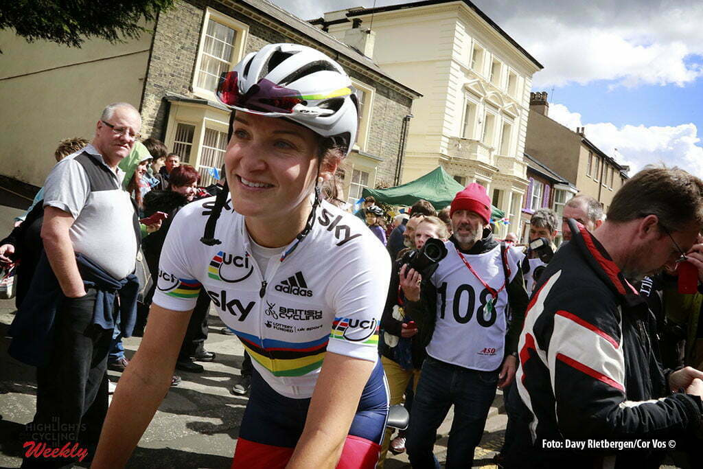 Doncaster - Great Britain - wielrennen - cycling - radsport - cyclisme - Elizabeth Lizzie Armitstead (Great Britain / Boels Dolmans Cycling Team) pictured during the Tour of Yorkshire - from Otley to Doncaster for women in Yorkshire, England - photo Davy Rietbergen/Cor Vos © 2016