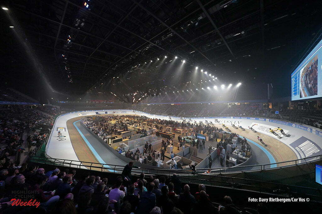 Rotterdam - Netherlands - wielrennen - cycling - cyclisme - radsport - baan - track - piste - illustration - sfeer - illustratie pictured during the Zesdaagse 2017 in Ahoy - Rotterdam - foto Davy Rietbergen/Carla Vos/Cor Vos ©2017