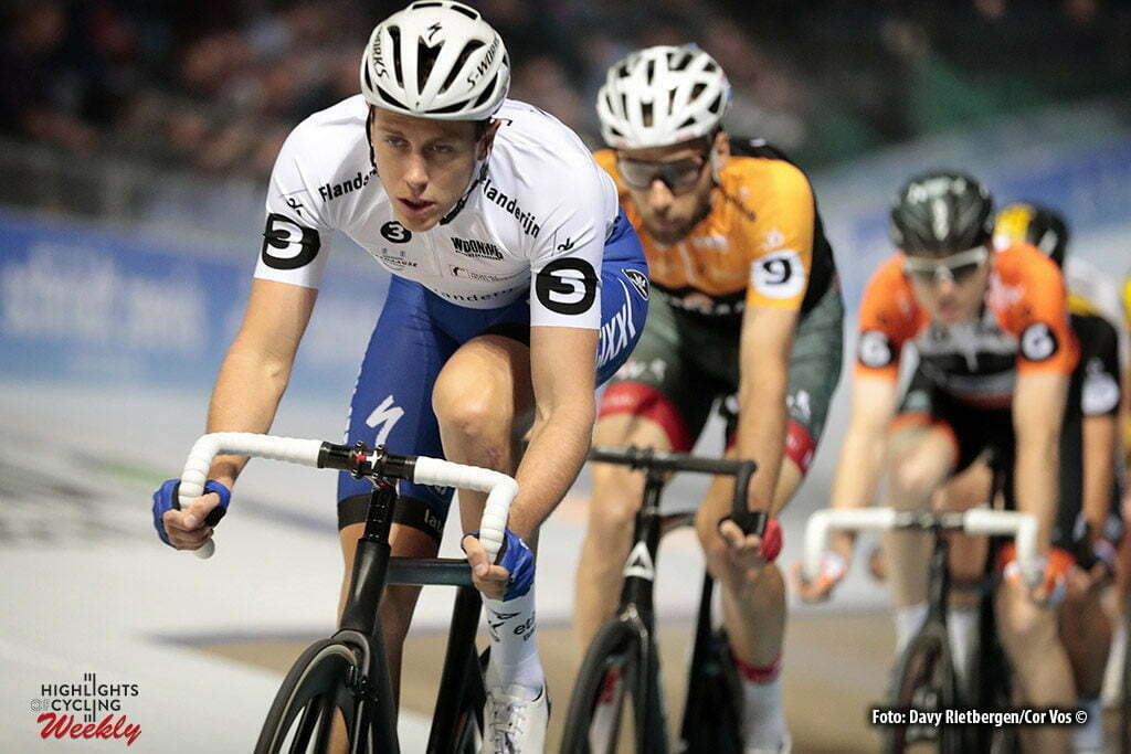 Rotterdam - Netherlands - wielrennen - cycling - cyclisme - radsport - baan - track - piste - Niki TERPSTRA (Netherlands / Team Quick Step - Floors) and Grasmann Christian pictured during the Zesdaagse 2017 in Ahoy - Rotterdam - foto Davy Rietbergen/Carla Vos/Cor Vos ©2017