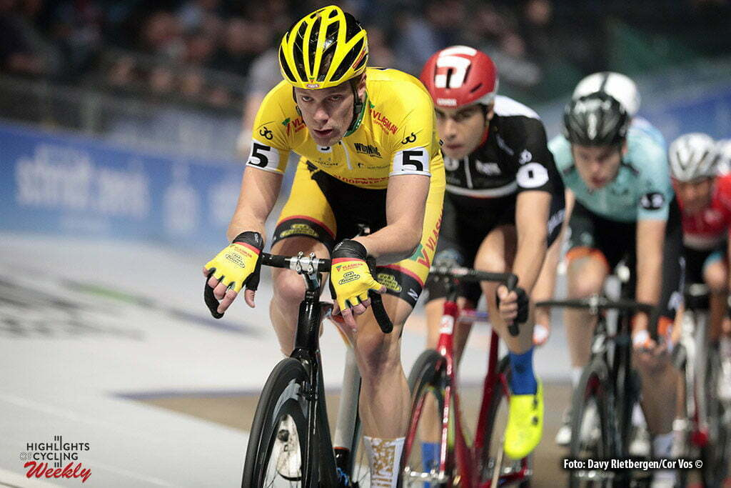 Rotterdam - Netherlands - wielrennen - cycling - cyclisme - radsport - baan - track - piste - Stroetinga Wim pictured during the Zesdaagse 2017 in Ahoy - Rotterdam - foto Davy Rietbergen/Carla Vos/Cor Vos ©2017