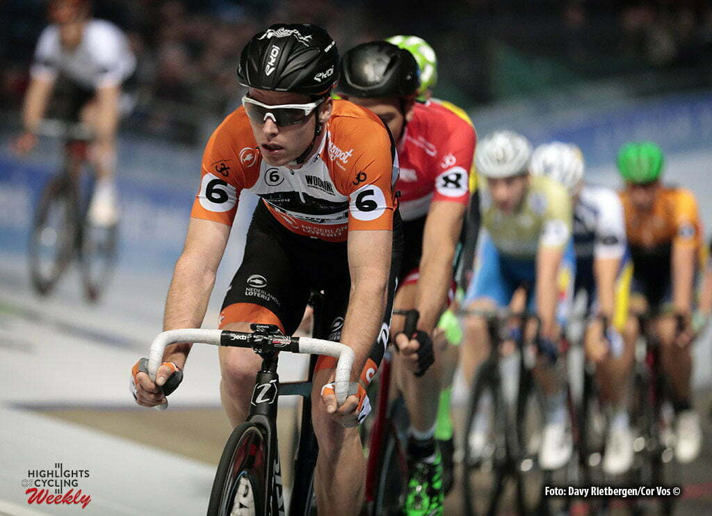 Rotterdam - Netherlands - wielrennen - cycling - cyclisme - radsport - baan - track - piste - Raymond Kreder pictured during the Zesdaagse 2017 in Ahoy - Rotterdam - foto Davy Rietbergen/Carla Vos/Cor Vos ©2017