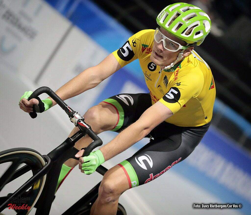Rotterdam - Netherlands - wielrennen - cycling - cyclisme - radsport - baan - track - piste - Dylan VAN BAARLE (Netherlands / Cannondale Drapac Professsional Cycling Team) pictured during the Zesdaagse 2017 in Ahoy - Rotterdam - foto Davy Rietbergen/Carla Vos/Cor Vos ©2017
