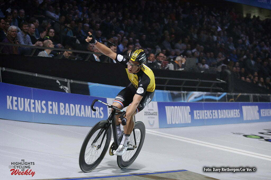 Rotterdam - Netherlands - wielrennen - cycling - cyclisme - radsport - baan - track - piste - Dylan GROENEWEGEN (Netherlands / Team Lotto NL - Jumbo) pictured during the Zesdaagse 2017 in Ahoy - Rotterdam - foto Davy Rietbergen/Carla Vos/Cor Vos ©2017