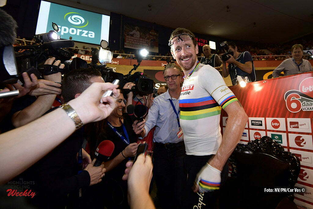 Gent - Belgium - wielrennen - cycling - radsport - cyclisme - Bradley Wiggins (GBR) pictured during the first day of the 76th Lotto Six Days Vlaanderen on November 15, 2016 at Het Kuipke velodrome in Gent, Belgium - photo NV/PN/Cor Vos © 2016