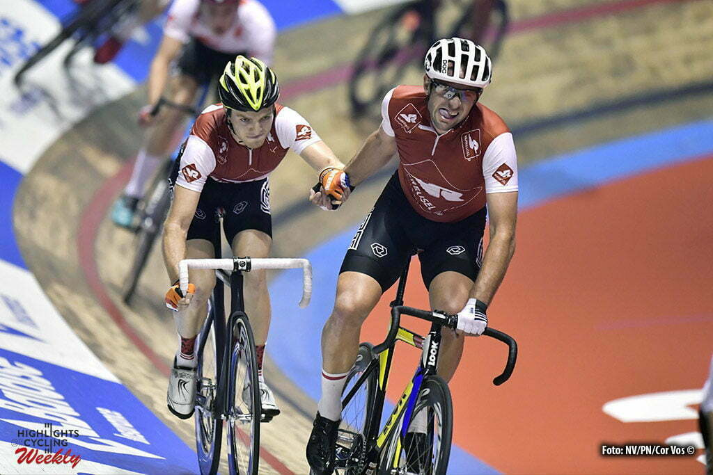 Gent - Belgium - wielrennen - cycling - radsport - cyclisme - Yoeri Havik (NED) and Alex Rasmussen (DEN) pictured during the first day of the 76th Lotto Six Days Vlaanderen on November 15, 2016 at Het Kuipke velodrome in Gent, Belgium - photo NV/PN/Cor Vos © 2016