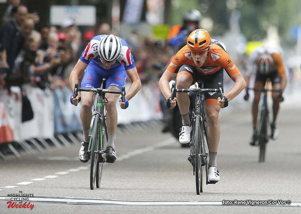Oss - Netherlands - wielrennen - cycling - radsport - cyclisme - Wesley Kreder (Netherlands / Roompot - Oranje Peloton) pictured during stage 1of the Ster ZLM Toer - GP Jan van Heeswijk 2016 in Oss, Netherlands - photo Carla Vos/Cor Vos © 2016