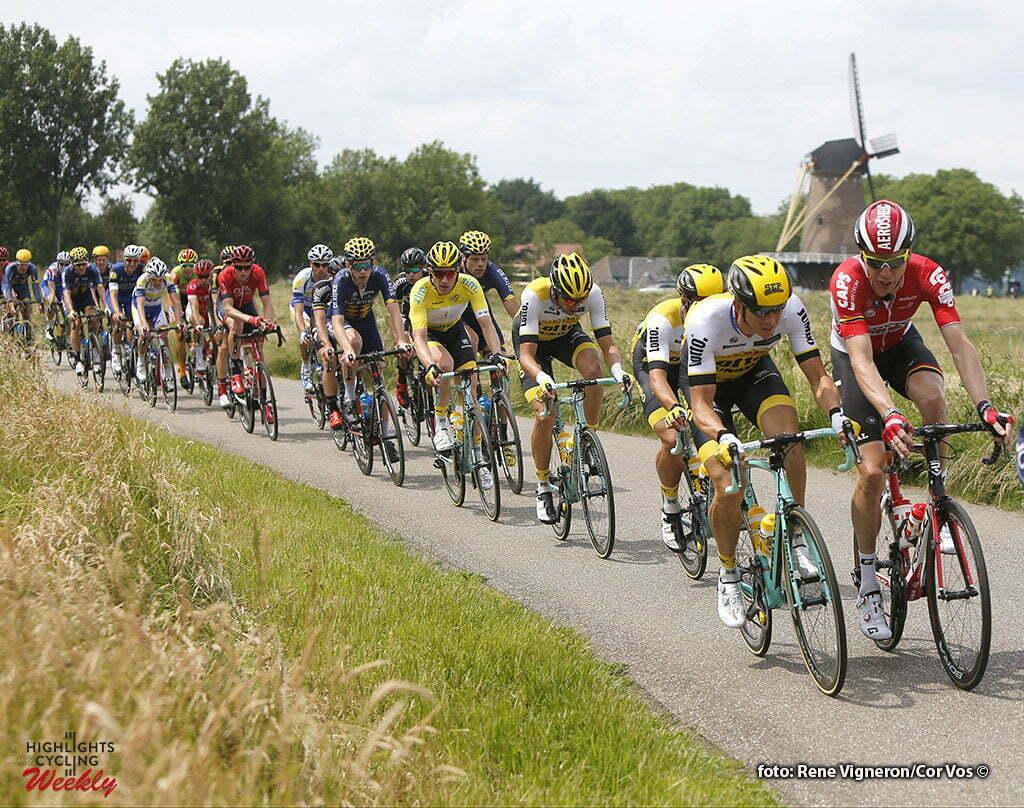 Oss - Netherlands - wielrennen - cycling - radsport - cyclisme - Marcel Sieberg (Germany / Team Lotto Soudal) - Sep Vanmarcke (Belgium / Team LottoNL - Jumbo) - Jos Van Emden (Netherlands / Team LottoNL - Jumbo) pictured during stage 1of the Ster ZLM Toer - GP Jan van Heeswijk 2016 in Oss, Netherlands - photo Carla Vos/Cor Vos © 2016