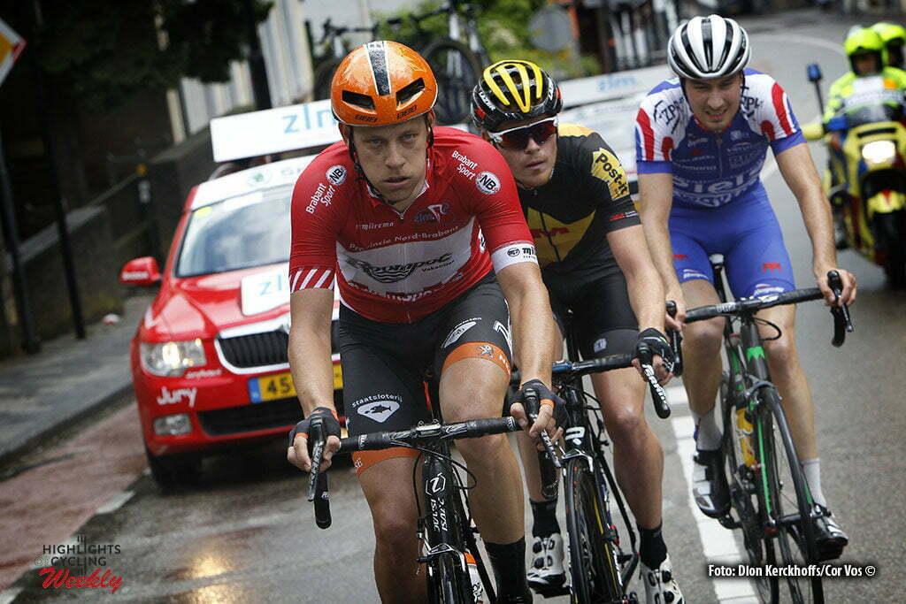 Buchten - Netherlands - wielrennen - cycling - radsport - cyclisme - Wesley Kreder (Netherlands / Roompot - Oranje Peloton) pictured during stage 3of the Ster ZLM Toer - GP Jan van Heeswijk 2016 in Buchten, Netherlands - photo Dion Kerckhoffs/Cor Vos © 2016