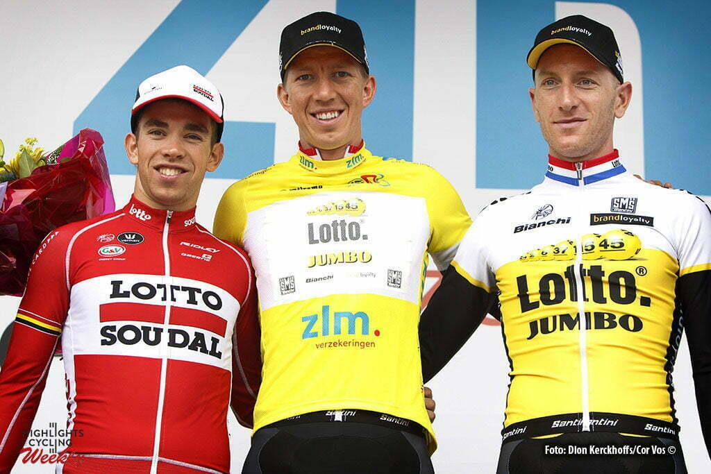 Boxtel - Netherlands - wielrennen - cycling - radsport - cyclisme - Sean De Bie (Belgium / Team Lotto Soudal) - Sep Vanmarcke (Belgium / Team Lotto Nl - Jumbo) - Jos Van Emden (Netherlands / Team Lotto Nl - Jumbo) pictured during stage 5 of the Ster ZLM Toer - GP Jan van Heeswijk 2016 in Boxtel, Netherlands - photo Dion Kerckhoffs/Cor Vos © 2016
