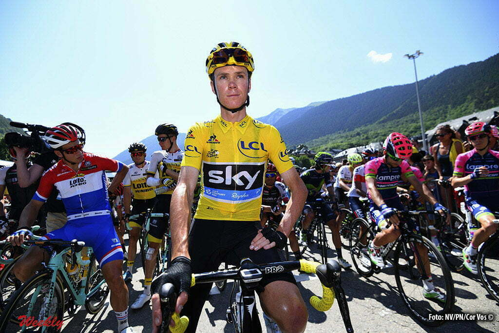 Andorre Arcalis - France - wielrennen - cycling - radsport - cyclisme - Chris Froome (GBR-Team Sky) pictured during stage 9 of the 2016 Tour de France from Vielha Val d'Aran to Andorre Arcalis, 184.00 km - photo NV/PN/Cor Vos © 2016