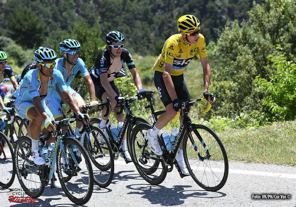 Andorre Arcalis - France - wielrennen - cycling - radsport - cyclisme - Chris Froome (GBR-Team Sky) pictured during stage 9 of the 2016 Tour de France from Vielha Val d'Aran to Andorre Arcalis, 184.00 km - photo VK/PN/Cor Vos © 2016