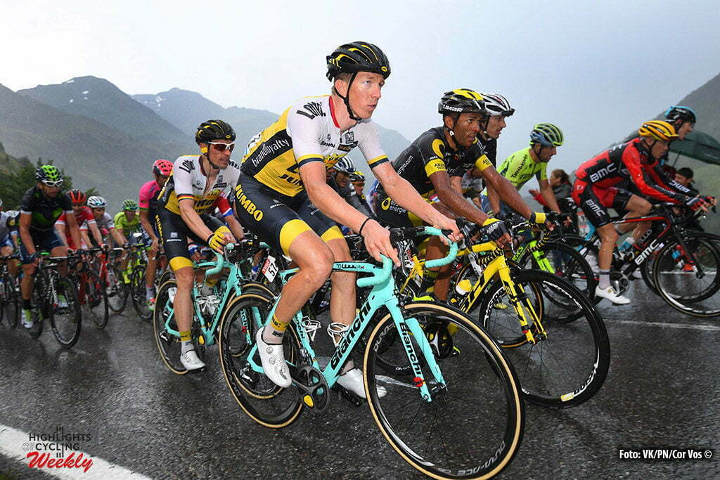 Andorre Arcalis - France - wielrennen - cycling - radsport - cyclisme - Sep Vanmarcke (BEL-LottoNL-Jumbo) - Robert Wagner (GER-LottoNL-Jumbo) pictured during stage 9 of the 2016 Tour de France from Vielha Val d'Aran to Andorre Arcalis, 184.00 km - photo VK/PN/Cor Vos © 2016