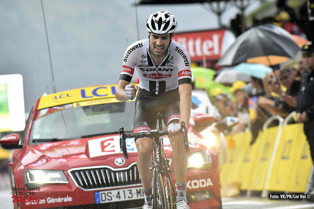 Andorre Arcalis - France - wielrennen - cycling - radsport - cyclisme - Tom Dumoulin (NED-Giant-Alpecin) pictured during stage 9 of the 2016 Tour de France from Vielha Val d'Aran to Andorre Arcalis, 184.00 km - photo NV/PN//PN/Cor Vos © 2016