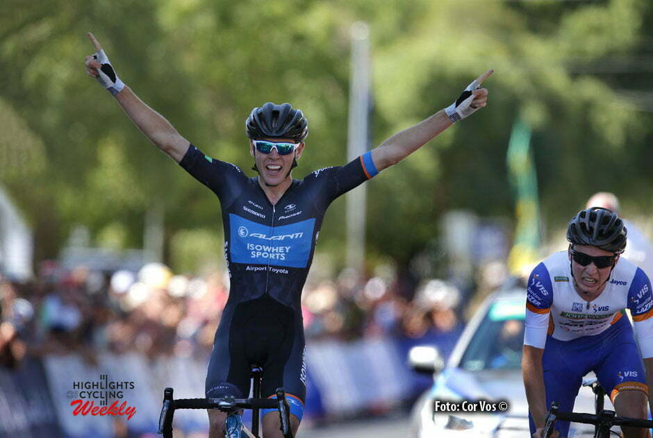Chris Hamilton wins the Australian roadracechampionships Under 23