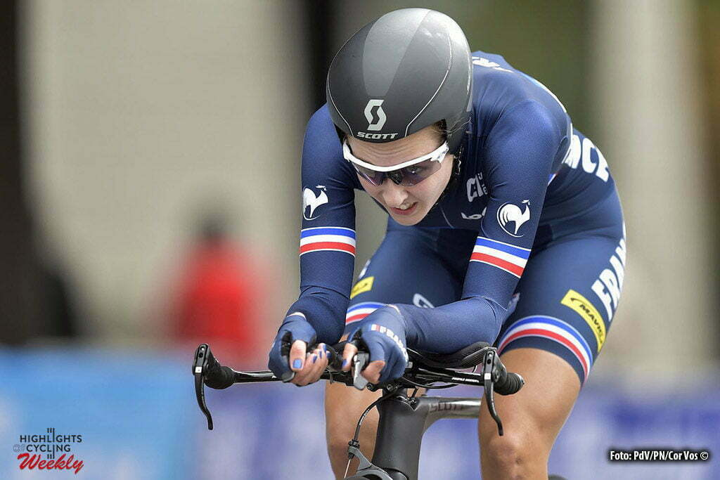 Richmond - USA - wielrennen - cycling - radsport - cyclisme - Juliette Labous of France pictured during the Worldchampionships Cycling - Championat du Monde in Richmond - TT - women juniores - photo's PDV/PN/Cor Vos © 2015